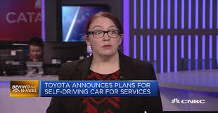 toyota announces plans for self driving car for services