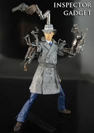 inspector gadget custom action figure gadget