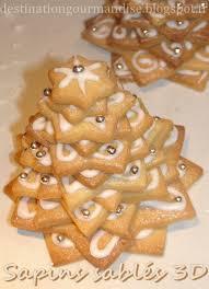 sachet pour biscuit destination gourmandise sapins sablés 3d