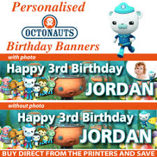 octonauts birthday party banner decoration