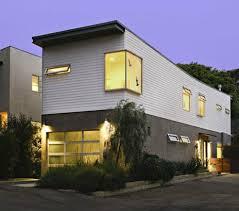 homes for narrow lots narrow lot prefab house santa ca modern prefab modular