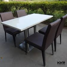 lucido extending central part white quality dining room furniture high quality malaysia dining table