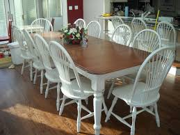 painted dining room table furniture how to refinish a dining room table with gloss brown
