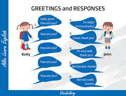 learning about basic greetings and introductions lesson