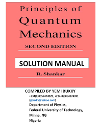 shankar quantum mechanics solution atomic orbital electron