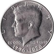 1776 to 1976 quarter dollar dollar kennedy half dollar bicentennial united states