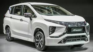 mitsubishi crossover white 2018 mitsubishi expander crossover mpv first look youtube