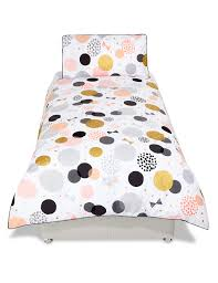 metallic spots bedding set m u0026s
