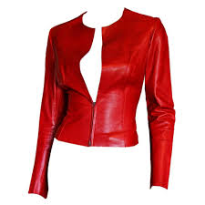 summer motorcycle jacket free shipping heavenly tom ford for gucci fw 1997 red leather