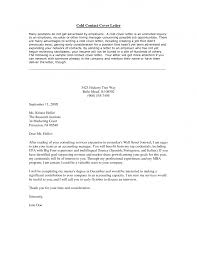 cold call cover letter sample guamreview com