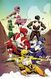 comic book preview mighty morphin power rangers 3 bounding