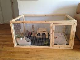 Diy Indoor Rabbit Hutch Door Large Indoor Rabbit Cage Extra Cages With Pull Out Trays
