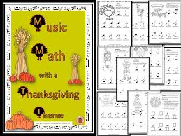 thanksgiving math activities worksheets knowledge and
