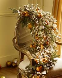 frosted gold 6 garland