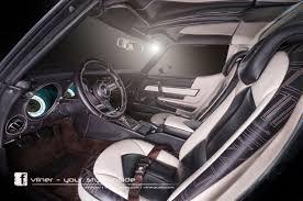 custom c3 corvette dash finally a c3 corvette interior that lives up to the exterior