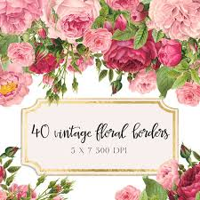 clipart floral borders clipart collection modern floral border