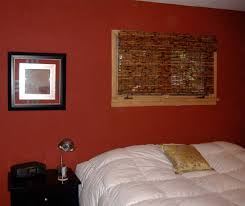 Red Bedroom Accent Wall - red accent wall living room simple home decoration