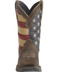 British Flag Boots Durango American Flag Flirt Cowgirl Boots Square Toe Country