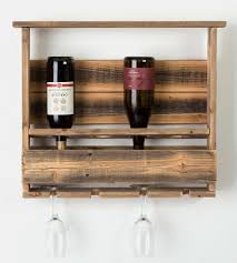 bravo reclaimed barn wood wine rack features reclaimed wood