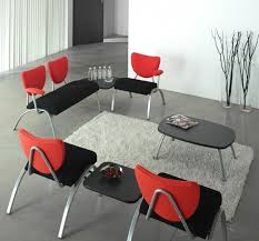 Office Reception Chairs Design Ideas Black And Red Anti Microbial Seat Office Reception Chairs And