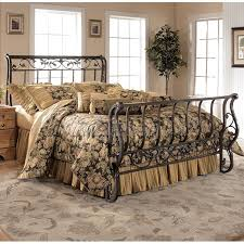 King Metal Headboard Beds Stunning King Metal Bed Frame Headboard Footboard Iron Bed