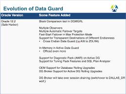 Oracle Dba Resume Example Data Guard Oracle Rac Virtualization And Exadata Expert