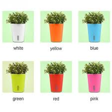 cute pots for plants colourful 1pcs cute indoor outdoor home garden office balcony decor