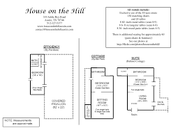 maps u0026 floor plans house on the hill