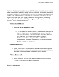 statement of purpose and objectives iwatch strategic marketing plan pdf flipbook p 1 34