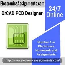 pcb designer orcad pcb designer electronics assignment help and homework help