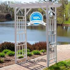 swing pergola backyard arbor with bench how to build design images on