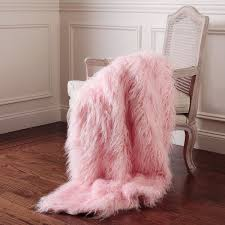 light pink throw blanket 158 best faux fur 2017 trend images on pinterest bedroom bedrooms