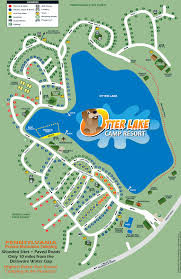 Florida Campgrounds Map by Otter Lake Camp Resort Site Map Camping Pinterest Site Map