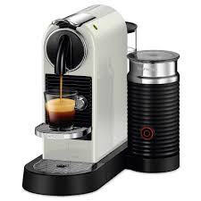 Burr Coffee Grinder Bed Bath And Beyond Nespresso Citiz And Milk White Frother And Espresso Machine