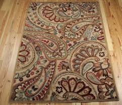 Paisley Area Rugs Buy Graphic Illusions Collection Area Rug In Multi Paisley Design
