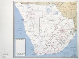 South Africa Maps by Large Political Map Of South Africa U2013 1961 Vidiani Com Maps Of