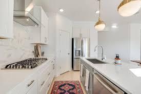 corner cabinet kitchen rug corner pantry next to refrigerator transitional kitchen