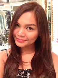filipina artist with copper brown hair color hair color for morena 2015 best hair color for natural black