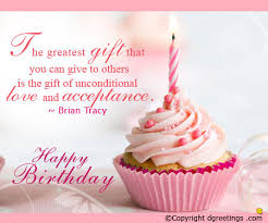 share this birthday quote and cheers to your loved one on his or