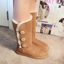 ugg s emalie boot 59 ugg boots ugg boots with buttons from breck s