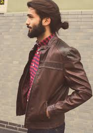 the man bun hairstyle