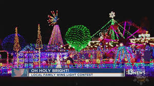 Christma Lights Local Family Wins National Lights Competition
