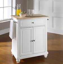 kitchen rolling kitchen island mobile kitchen island white