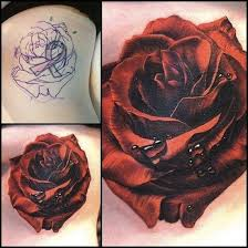 32 best black rose cover up tattoos images on pinterest arsenal