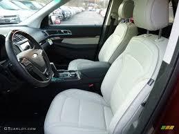 Ford Explorer Platinum - platinum medium soft ceramic nirvana leather interior 2016 ford