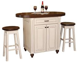 kitchen island with stools natural oak small high excellent