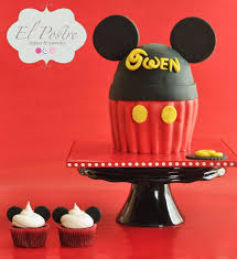 Red Minnie Mouse Cake Decorations 59 Best Jumbo Cupcakes Images On Pinterest Cupcake Ideas Cake