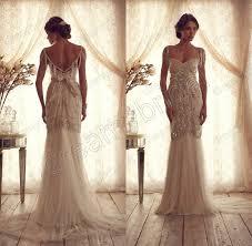 vintage summer wedding dresses vestidos de chiffon backless summer garden vintage wedding
