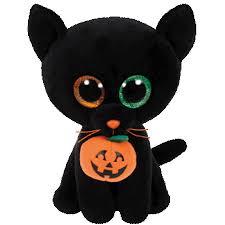 ty beanie boo plush stuffed animal shadow black cat 9