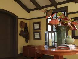 craftsman home interiors design a craftsman living room hgtv